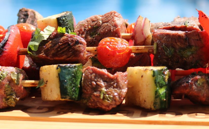 Sizzler Steak Kebobs