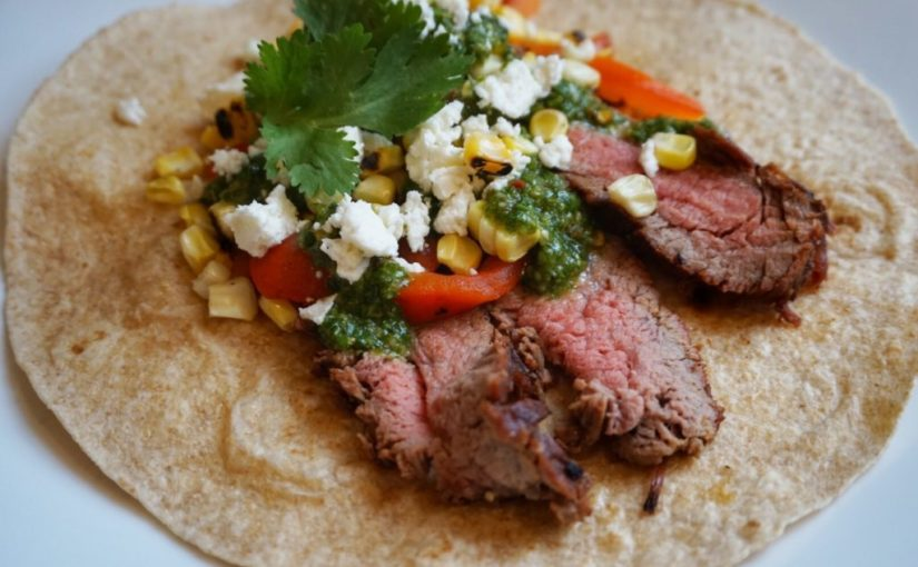 GRNow Test Kitchen: Flank Steak Tacos