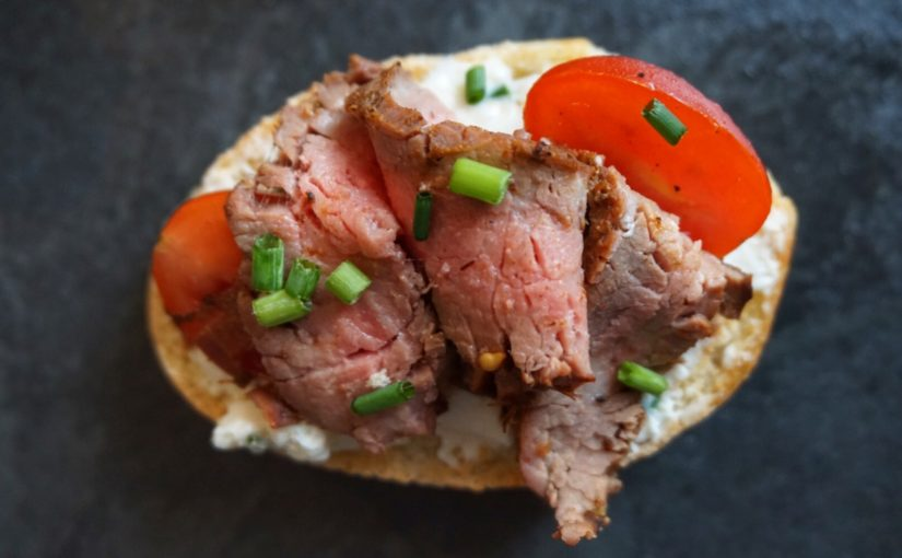 GRNow Test Kitchen: Flank Steak Crostini
