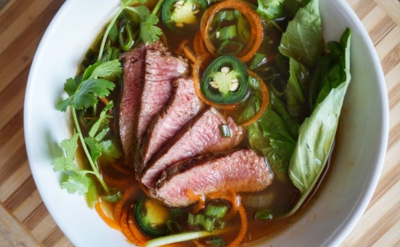 Beef & Carrot Noodle Soup